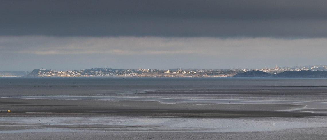 pléneuf val andré & anse d'yffignac vus de la plage du valais à Cesson, 5 févr 19, 16h40 (1 sur 1)