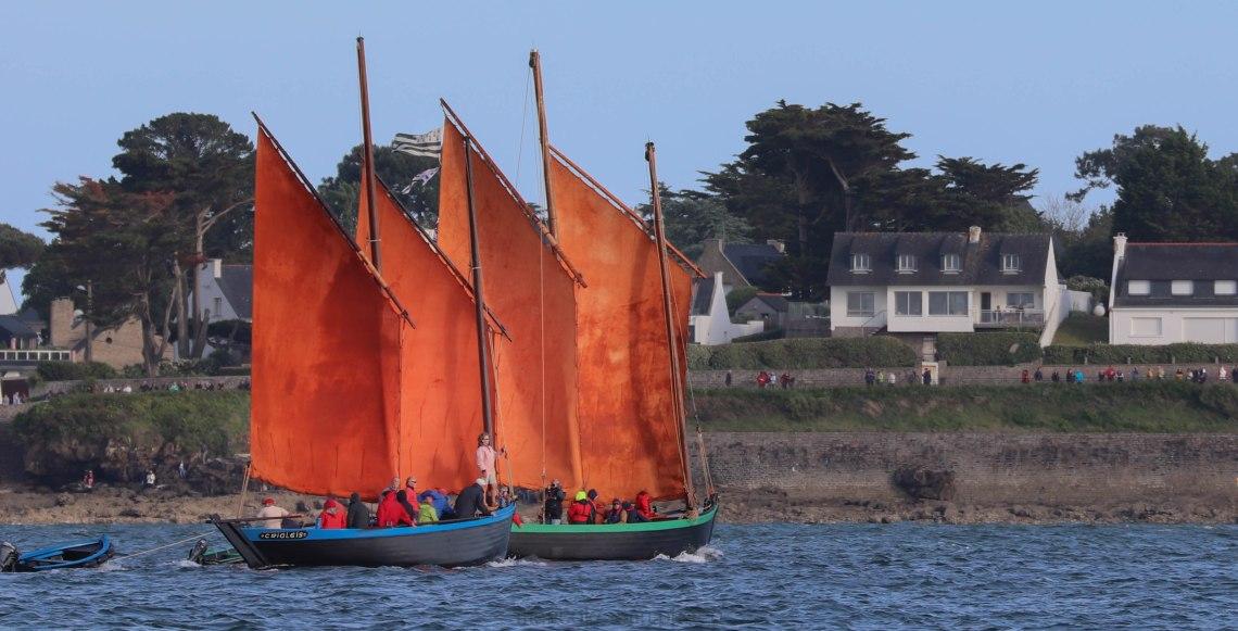 Crialéïs & Joli Vent 27 mai 19 devant Port Navalo 19h40.jpg