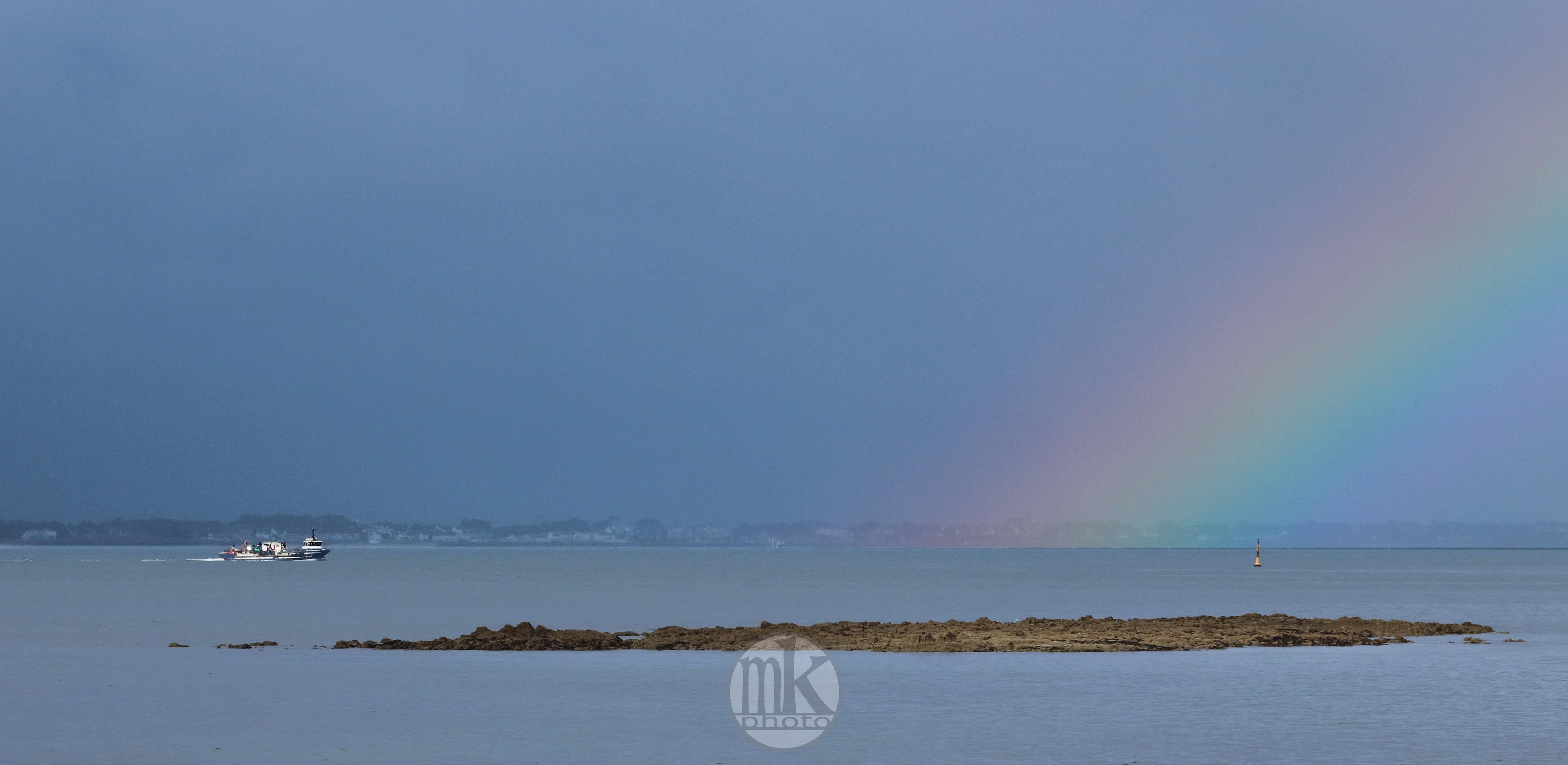 arc-en-ciel, Baie de quiberon, 16 juin 20, 9-24-30